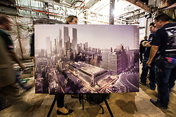 August 17, 2017 - New York, New York, U.S. - Illustration rendering of the completed project.  Governor Cuomo and Maura Moynihan, the daughter of former senator of New York Daniel Patrick Moynihan, dedicate the new Moynihan Train Hall.  The new hall is under the postal service building behind New York Penn Station's 8th Avenue side and is a crucial piece of development designed to help sustain development of the city's far west side. (Credit Image: © Sachelle Babbar via ZUMA Wire)