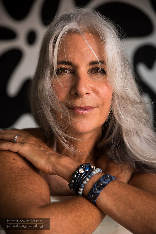 mature evolved beautiful women with grey silver hair