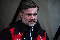 Fleetwood Town manager Steven Pressley <br /> <br /> Photographer Andrew Vaughan/CameraSport<br /> <br /> Football - The Football League Sky Bet League One - Coventry City v Fleetwood Town - Saturday 27th February 2016 - Ricoh Stadium - Coventry   <br /> <br /> © CameraSport - 43 Linden Ave. Countesthorpe. Leicester. England. LE8 5PG - Tel: +44 (0) 116 277 4147 - admin@camerasport.com - www.camerasport.com