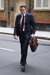 © Licensed to London News Pictures. 09/09/2021. London, UK. Education Secretary GAVIN WILLIAMSON at the Department for Education in Westminster. The Education had been accused of mixing up Man Utd's Marcus Rashford with Maro Itoje. Photo credit: Ben Cawthra/LNP