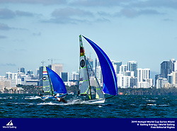 From 27 January to 3 February 2019, Miami will host sailors for the second round of the 2019 Hempel World Cup Series in Coconut Grove. More than 650 sailors from 60 nations will race across the 10 Olympic Events.<br /> ©PEDRO MARTINEZ/SAILING ENERGY/WORLD SAILING<br /> 28 January, 2019.
