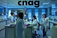 13/Mayo/2013 Barcelona.CSIC - Malaspinomics.<br /> Análisis genómico de las muestras de la Expedición Malaspina 2010 en el Centro Nacional de Análisis Genómico, CNAG.<br /> <br /> ©JOAN COSTA.