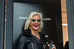 "© Licensed to London News Pictures. 28/10/2020. LONDON, UK. ""Donald Trump"", 2020, is presented by satirical artist Alison Jackson (pictured), on display at the Soho Revue Gallery in Soho, 28 October to 3 November 2020.  Constituents in the United States will cast their vote in the upcoming Presidential Election on 3 November.  Photo credit: Stephen Chung/LNP"