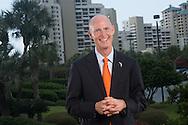Florida Governor Rick Scott at Sandestin Beach Resort in Destin Fla., Thursday, August 8, 2013.  (Photo: Michael Spooneybarger)