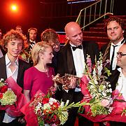 NLD/Utrecht/20121005- Gala van de Nederlandse Film 2012, gouden Kalf prijswinnaars