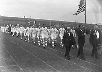 H2484<br /> Opening of  the 1932 Tailteann Games. Picture of various teams parading. (Part of the Independent Newspapers Ireland/NLI Collection)