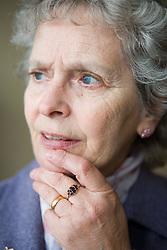 Portrait of a older woman,