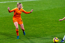 09-11-2018 NED: UEFA WC play-off final Netherlands - Switzerland, Utrecht<br /> European qualifying for the 2019 FIFA Women's World Cup - Jackie Groenen #14 of Netherlands