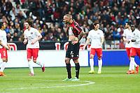 Deception Nice - Didier DIGARD - 18.04.2015 - Nice / Paris Saint Germain - 33eme journee de Ligue 1<br />Photo : Serge Haouzi / Icon Sport