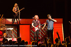 Styx performs at the Buffalo Chip during the 75th Annual Sturgis Black Hills Motorcycle Rally.  SD, USA.  August 6, 2015.  Photography ©2015 Michael Lichter.