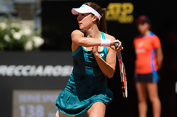 May 14, 2019 - Rome, ITALY - Alize Cornet of France in action during her first-round match at the 2019 Internazionali BNL d'Italia WTA Premier 5 tennis tournament (Credit Image: © AFP7 via ZUMA Wire)
