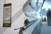thermometer corridor with tubes , Bodegas Otero, Benavente spain castile and leon
