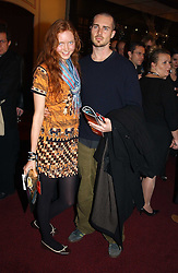 Model LILY COLE and ALEX DANIEL at the return of Dralion to celebrate the Cirque Du Soleil's 20th Anniversary at the Royal Albert Hall, London on 6th January 2005.<br /><br />NON EXCLUSIVE - WORLD RIGHTS