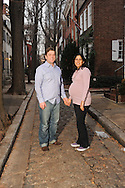 PHILADELPHIA, PA - JANUARY 26:  The Bernard's photographed January 26, 2012 in Philadelphia, Pennsylvania. (Photo by William Thomas Cain/cainimages.com)