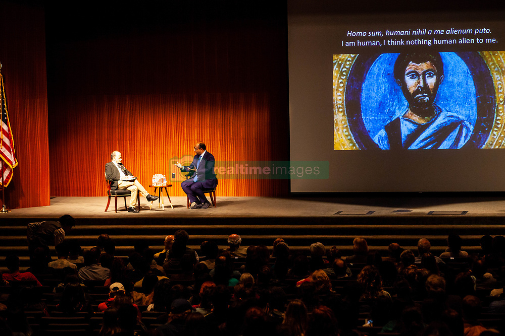 November 1, 2018 - Austin, Texas, USA - Kwame Anthony Appiah arrive at The LBJ Auditorium for a speech at the Ethics Project At UT Austin in Austin, Texas on November 1st, 2018 (11/01/18).  Photo of KWAME ANTHONY APPIAH. (Credit Image: © Michael Mullenix/ZUMA Wire)