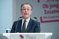 30 OCT 2018, BERLIN/GERMANY:<br /> Franz Muentefering, SPD, Vorsitzender der Bundesarbeitsgemeinschaft der Senioren- Organisationen – BAGSO und Bundesminister a.D., 2. dbb Bundesseniorenkongress, dbb Forum Berlin<br /> IMAGE: 20181030-01-081<br /> KEYWORDS: Franz Müntefering