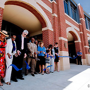 Ribbon cutting of the new Metro Patrol station for the Kansas City Police Department.