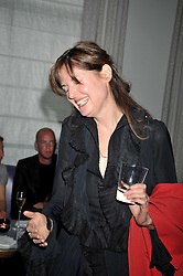 INDIA JANE BIRLEY at a party to celebrate the publication of Stephanie Theobold's book 'A Partial Indulgence' held at the Langham Hotel, Portland Place, London on 21st April 2009.