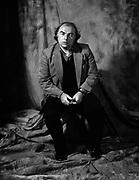 Van Morrison portrait at the Kensington Hilton 1981