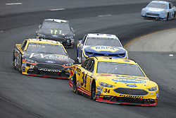 July 22, 2018 - Loudon, New Hampshire, United States of America - Michael McDowell (34) brings his car through the turns during the Foxwoods Resort Casino 301 at New Hampshire Motor Speedway in Loudon, New Hampshire. (Credit Image: © Chris Owens Asp Inc/ASP via ZUMA Wire)
