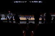 Visione generale del Palazzetto Arena <br /> Pallacanestro Cantu' - A X Armani Exchange Milano <br /> Basket Serie A LBA 2020/2021<br /> Desio 15 November 2020<br /> Foto Mattia Ozbot / Ciamillo-Castoria