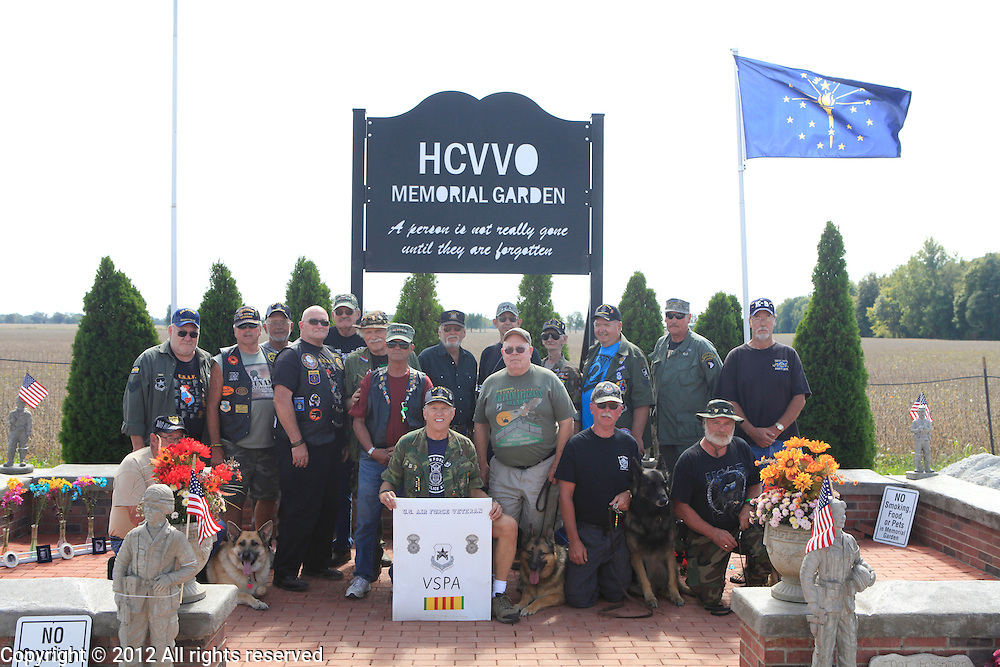 Kokomo Indiana Vietnam Veterans Reunion 2012first infantry divison group photo saturday