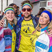NLD/Rotterdam/20170319 - inloop De Marathon de Musical, Bridget Maasland en vriendinnen