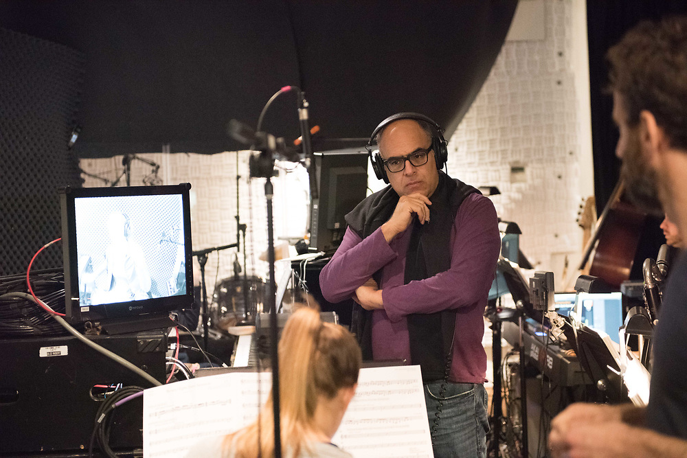 David Yazbek (Music & Lyrics): The Band's Visit - Behind the scenes and Production photos from the original Atlantic Theater Company Off Broadway production