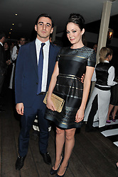 FERDINAND KINGSLEY and ANNA SKELLERN at the InStyle Best of British Talent Event in association with Lancôme and Avenue 32 held at The Rooftop Restaurant, Shoreditch House, Ebor Street, London E1 on 30th January 2013.