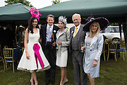 NATASHA HEMMINGS MISS ENGLAND; DARIUS DAUBARAT; MRS. DARIUS UNUSAITE-DAUBARAT; VISCOUNT DAVENPORT; LIZ BREWER, 2015, Royal Ascot, Tuesday, 14 June 2016