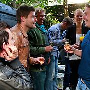 NLD/Amsterdam/20110905 - Dad's Moment 2011, Koert-Jan de Bruin en Lodewijk Hoekstra in gesprek