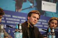 Actor  Tobias Santelmann at the press conference for the film Out Stealing Horses (Ut Og Stjæle Hester) at the 69th Berlinale International Film Festival, on Saturday 9th February 2019, Hotel Grand Hyatt, Berlin, Germany.