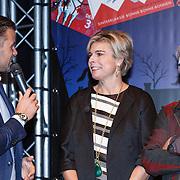 NLD/Amsterdam/20131112 - Presentatie DE Sinterklaasboeken, Winston Gerstanowitz, prinses Laurentien en Jan Jutte
