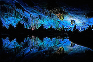 Inside the Reed Flute Cave.