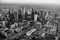 Downtown Los Angeles featuring Harbor Freeway