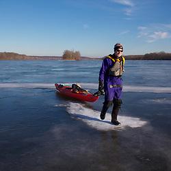 Walking and Paddling a Fron Potomac