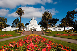 Conservatory, Golden Gate Park, San Francisco, California, USA.  Photo copyright Lee Foster.  Photo # california108477