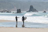 Surfers Port Orford Oregon