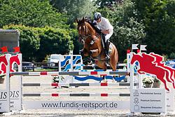 08, Youngster-Springprfg. Kl. M* 6-8j. Pferde,, Ehlersdorf, Reitanlage Jörg Naeve, 15. - 18.07.2021, Thomas Voss (GER), Teulonia 3,