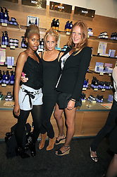 Left to right, TOLULA ADEYEMI, MARISSA MONTGOMERY and OLIVIA INGE at the Natural Beauty Honours 2008 hosted by Neal's Yard Remedies, 124b King's Road, London SW3 on 4th September 2008.<br /> <br /> NON EXCLUSIVE - WORLD RIGHTS