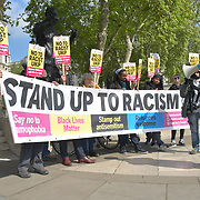 No to far right Ukip racism in London