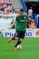 Athletic Club´s Aymeric Laporte during 2014-15 La Liga match between Atletico de Madrid and Athletic Club at Vicente Calderon stadium in Madrid, Spain. May 02, 2015. (ALTERPHOTOS/Luis Fernandez)