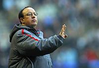 Photo: Paul Thomas.<br /> Bolton Wanderers v Liverpool. The Barclays Premiership.<br /> 02/01/2006.<br /> <br /> Rafeal Benitez