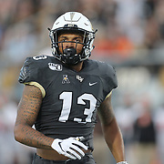 ORLANDO, FL - AUGUST 29: Gabriel Davis #13 of the UCF Knights is seen during a NCAA football game between the Florida A&M Rattlers and the UCF Knights on August 29 2019 in Orlando, Florida. (Photo by Alex Menendez/Getty Images) *** Local Caption *** Gabriel Davis