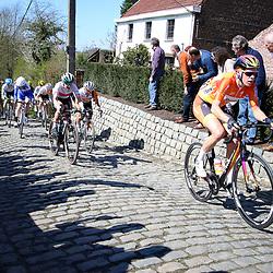 03-04-2016: Wielrennen: Ronde van Vlaanderen vrouwen: Oudenaarde  <br /> OUDENAARDE (BEL) cycling  The sixth race in the UCI Womensworldtour is the ronde van Vlaanderen. A race over the famous Flemish climbs. Molenberg Ellen van Dijk