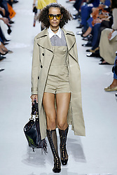 October 2, 2017 - Paris, France - Image licensed to i-Images Picture Agency. 02/10/2017. Paris, France. Christian Dior show at Paris Fashion Week for spring/summer  2018. Picture by i-Images (Credit Image: © i-Images via ZUMA Press)