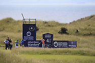 Andrea Pavan (ITA) on the 4th during Round 4 of the Aberdeen Standard Investments Scottish Open 2019 at The Renaissance Club, North Berwick, Scotland on Sunday 14th July 2019.<br /> Picture:  Thos Caffrey / Golffile<br /> <br /> All photos usage must carry mandatory copyright credit (© Golffile | Thos Caffrey)