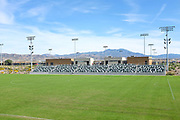 Orange County Great Park Soccer Stadium Grandstand Seating Area