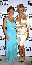 Left to right, DANNI MINOGUE and PAMELA ANDERSON at a party to celebrate Pamela Anderson's new role as spokesperson and newest face of the MAC Aids Fund's Viva Glam V Campaign held at Home House, Portman Square, London on 21st April 2005.<br /><br />NON EXCLUSIVE - WORLD RIGHTS