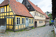 Den Gamle By, The Old Town, open-air folk museum of period buildings at Aarhus in East Jutland, Denmark